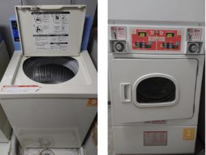 画像(洗濯機と乾燥機)